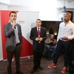 (de la stanga la dreapta) Mihai Galis, Director Vodafone Stores, Consumer Business Unit, Vodafone Romania_ Bogdan Lerescu, Head of Terminals, Consumer Business Unit, Vodafone Romania_ Cabral Ibacka (Small)