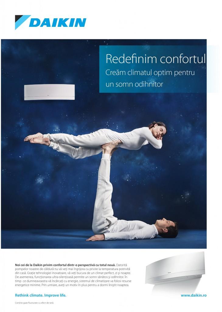 Daikin - Redefinim confortul
