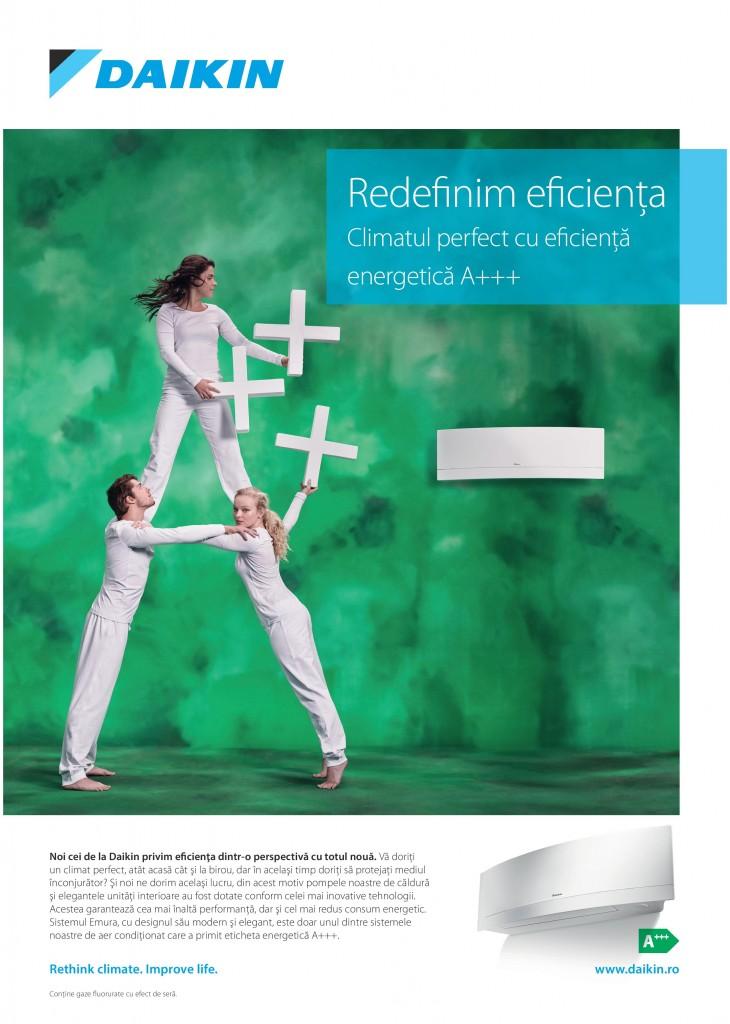 Daikin - Redefinim eficienta