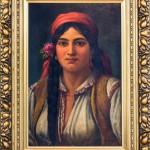 Theodor Aman - Tiganca cu trandafir la ureche